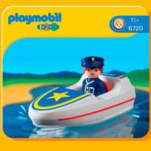 Playmobil 1.2.3 Coastal Search & Rescue