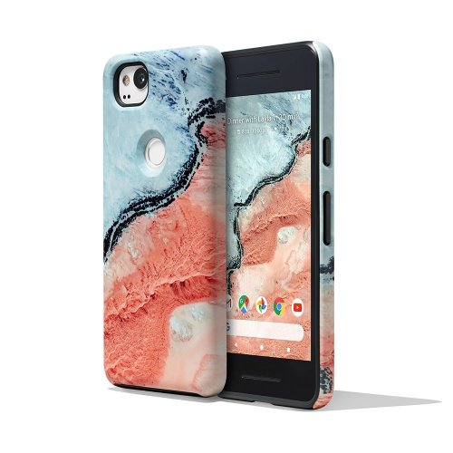 Google Pixel 2 Earth Live Landscape Photo Phone Case Cover Active Edge Compatible - River