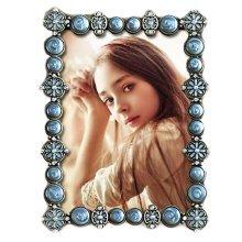 Retro Frames Creative Photo/Album Frame/ Nursery Picture Frames-Blue