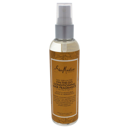Raw Shea Butter On-The-Go Conditioning Hair Fragrance by Shea Moisture for Unisex - 4 oz Spray
