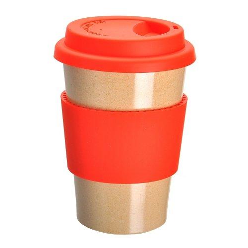 OLPRO Husk BreakTime Re-Useable Beaker - Red