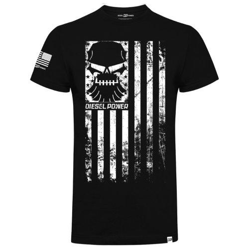 Diesel Power Gear Rank & File Black Official T Shirt