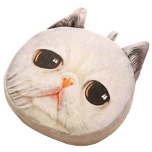 Cat Pillow Washable Cushion Christmas Gift Fashion Pillow White A