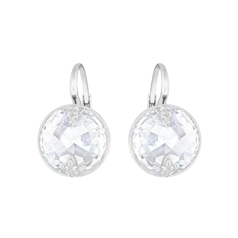 de7a2b22a Swarovski Globe Pierced Earrings - White - 5274314 on OnBuy