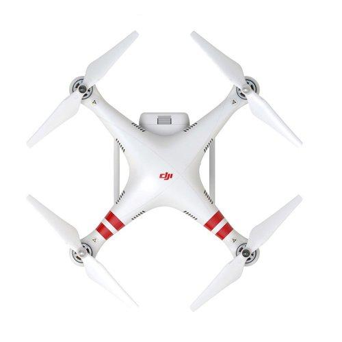 DJI Phantom 2 UAV Aerial Quadcopter Drone With Action Camera White