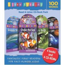 I Love Reading: 100 Word Cd/Book (I Love Reading Little Facts Pk)