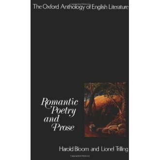 Romantic Poetry and Prose (Oxford Anthology of English Literature): Romantic Poetry and Prose Pt.4