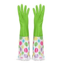 Summer Dish Washing Gloves Waterproof Gloves Cleaning Gloves -Green