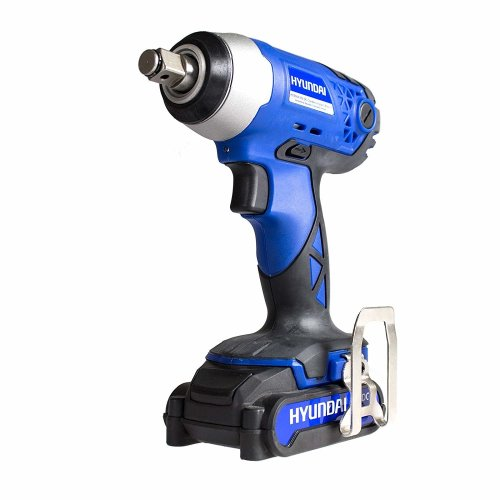 "Hyundai HY2164 Cordless Impact Wrench High Torque Impact Driver Nut Gun 1/2"" 18v [Energy Class A+]"