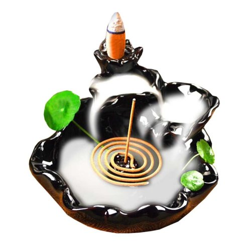 Ceramic Glaze Incense Burner Holder