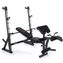 Marcy MD857 Diamond Elite Olympic Weight Bench With Squat Rack