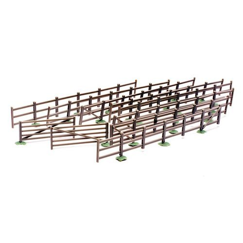 OO Building plastic kit (trackside) - Fencing and Gates - Dapol Kitmaster C023