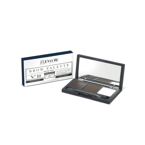 Eylure Brow Palette, Dark Brown