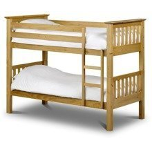 Trenty Solid Pine Bunk Bed for Children
