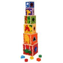 Bigjigs Stacking Cubes Toy