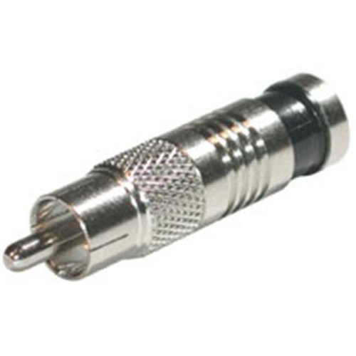 Cables To Go 41121 COMPRESSION RCA-TYPE CONNECTOR for RG6 - 50PK