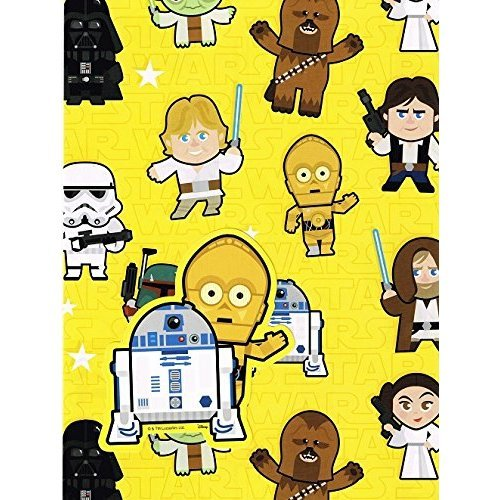 sc 1 st  OnBuy & Star Wars Hallmark Gift Wrap 2 Sheets 2 Tags on OnBuy