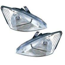 Ford Focus Mk1 Saloon 1998-9/2001 Halogen Headlights Headlamps 1 Pair O/S & N/S