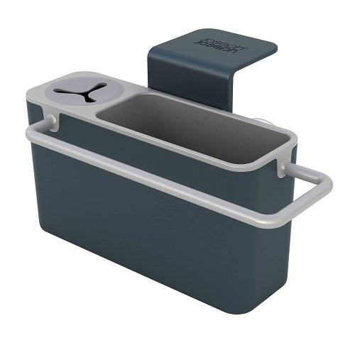 Joseph Joseph Sink Aid In-Sink Caddy Storage Organiser With Rubber Grip Grey