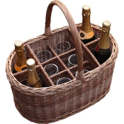 Oval Festival Drinks Basket