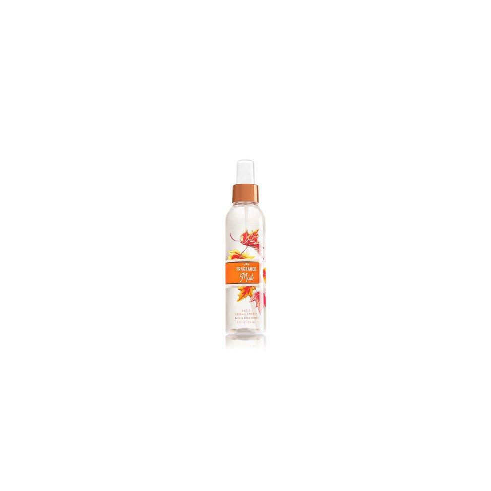Bath Body Works Salted Caramel Apricot Fine Fragrance Mist On Onbuy Spray Twilight Woods For Men
