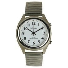 Lifemax 407.1e Mens Radio Controlled Talking Watch