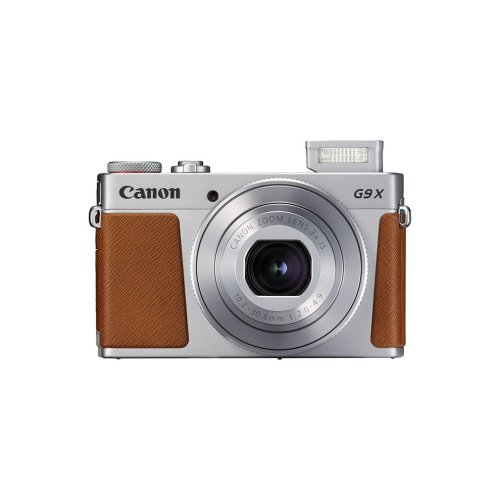 Canon G9X II Digital Camera - Silver | Compact Touchscreen Camera