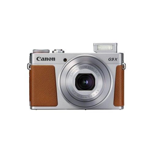 Canon G9X II Digital Camera - Silver | Compact Touch Screen Camera
