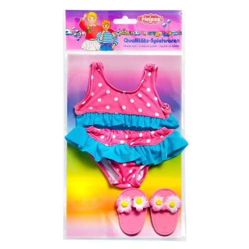 Heless 187Heless Bikini with Slipper for Small Doll