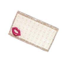 Elegant Crystal Cigarette Holder Ladies Cigarette Case Accessories Greative Gift, A