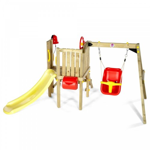 Plum Plum Toddlers Tower Wooden Play Centre