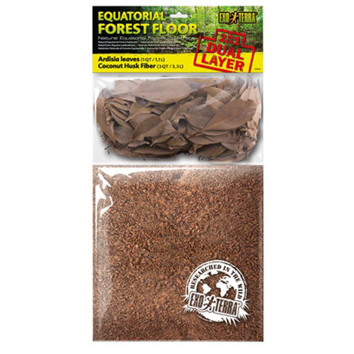 Exo Terra Dual Leaves & Coco Husk Substrate - Small