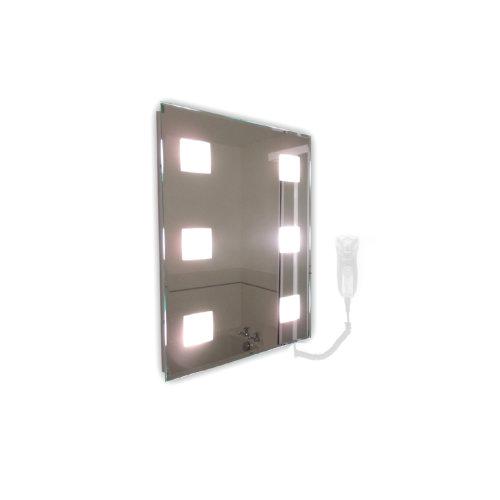 Snaresbrook Rectangular LED Mirror Large