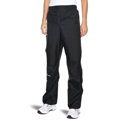 Berghaus Women's Deluge Waterproof Over Trousers, Black, 12/Short UK(M  EU)