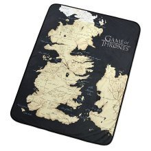 Map of Westeros Fleece Throw | Game of Thrones Blanket