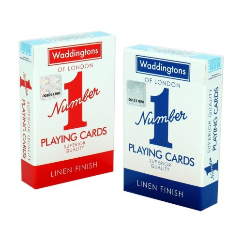 2pk Waddingtons Number 1 Playing Cards | Playing Card Twin Pack