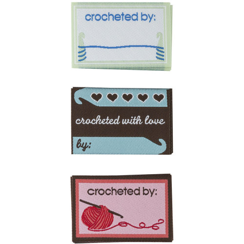 Boye Garment Labels 9/Pkg-Crochet