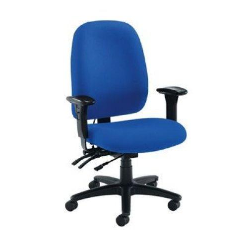 Posture Vista High Back Chair Royal Blue