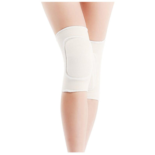 Knee Brace Sleeve for Yoga/Dance/Football/ Basketball Sports Protection White