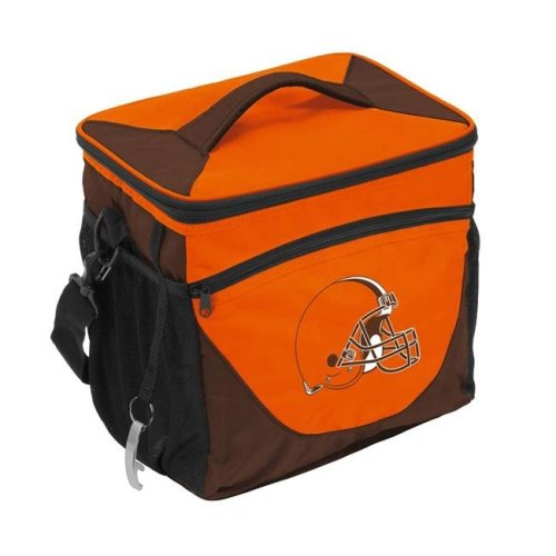 Logo Brands 608-63 Cleveland Browns 24 Can Cooler