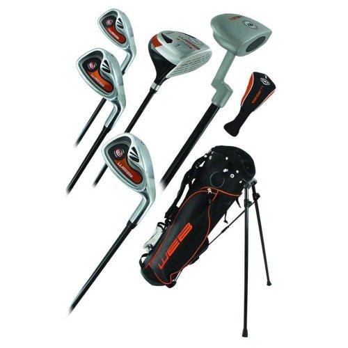 Go Junior High Quality Childrens 7 Piece Golf Starter Kids Package Set Age 6-8
