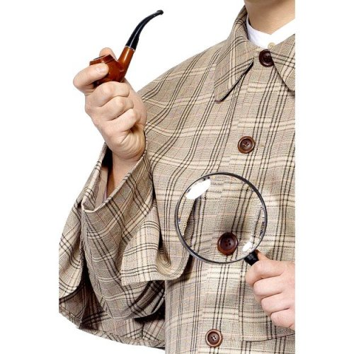 Tales Of Old England Sherlock Holmes Fancy Dress Kit -  sherlock holmes kit england fancy dress detective smiffys tales old glass pipe accessory