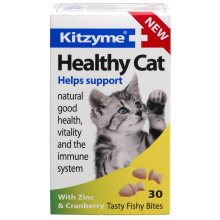 Kitzyme Cat Healthy Cranberry & Zinc 30 Tablets