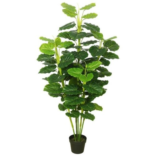 Vickerman TA170401 Fresh Philodendron Everyday Tree with Pot-Green