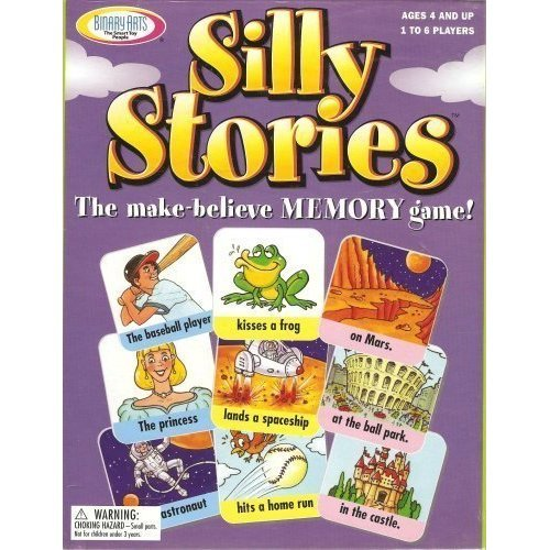 Silly Stories The Make believe Memory Game by Binary Arts