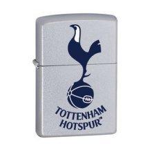 Tottenham Hotspur Zippo Lighter - Satin Chrome Windproof Official -  satin chrome windproof lighter official tottenham hotspur