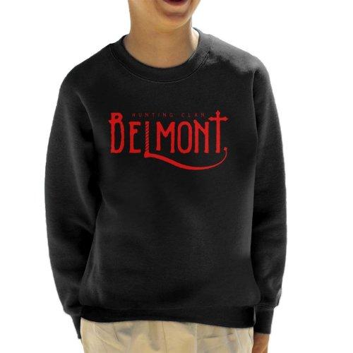 Castlevania Belmont Hunting Clan Red Kid's Sweatshirt