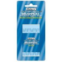 Welters Interdental Brush Sticks - Hygiene Pick Brushpicks 150 Plastic Box -  welters interdental hygiene pick brushpicks 150 sticks plastic box