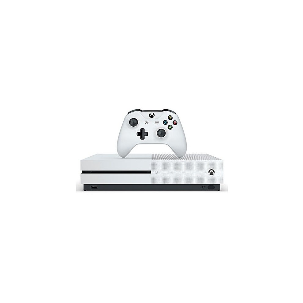 Microsoft 1681 Xbox One S 500GB Video Games Console With Controller White