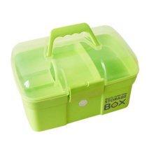 Green Medicine Storage Box Medicine Storage Container